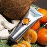 imagen producto crema de manos  greenland coco y mandarina